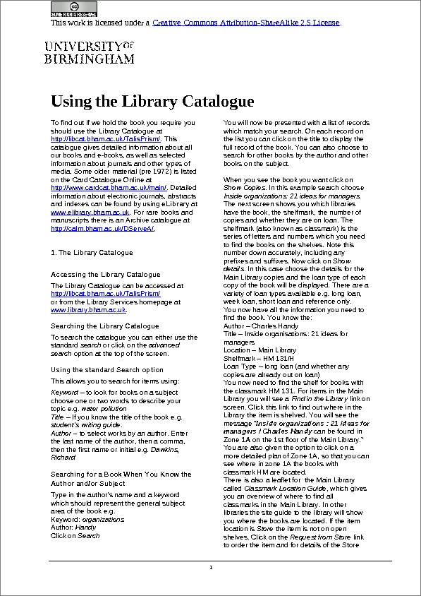 library catalogues essay Describe a library essay so the topic on my card is to describe a library that i visited library catalog what does the library have to offer.